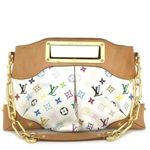 💯 Auth  Louis Vuitton Judy MM Shoulder Bag